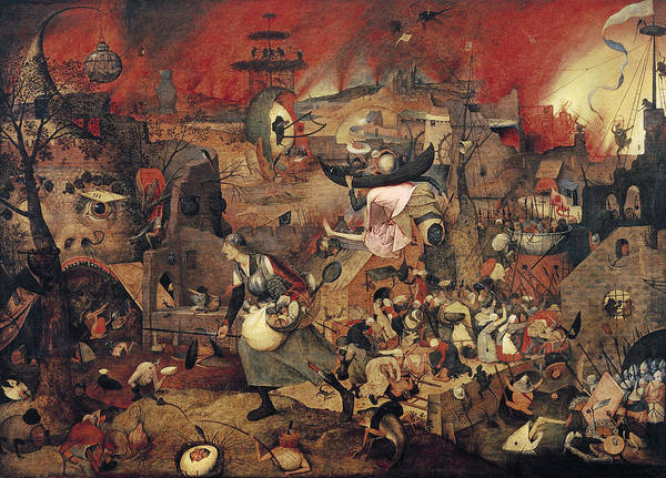 The Elder Painting - Dull Gret by Pieter the Elder Bruegel