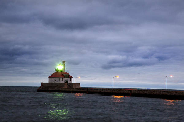Photograph - Duluth Harbor  by CA  Johnson