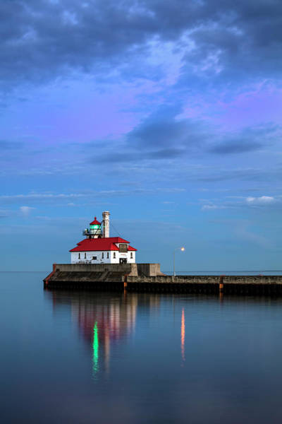 Photograph - Duluth Harbor Lighthouse by CA Johnson