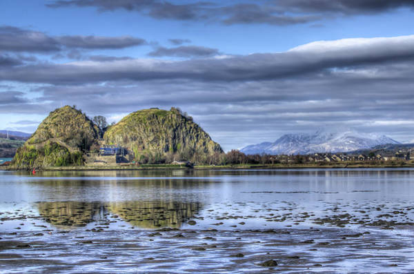 Clydebank Photograph - Dumbarton Rock On The Clyde by Gerry Greer