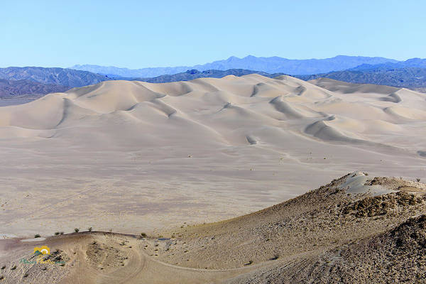 Photograph - Dumont Dunes 16 by Jim Thompson