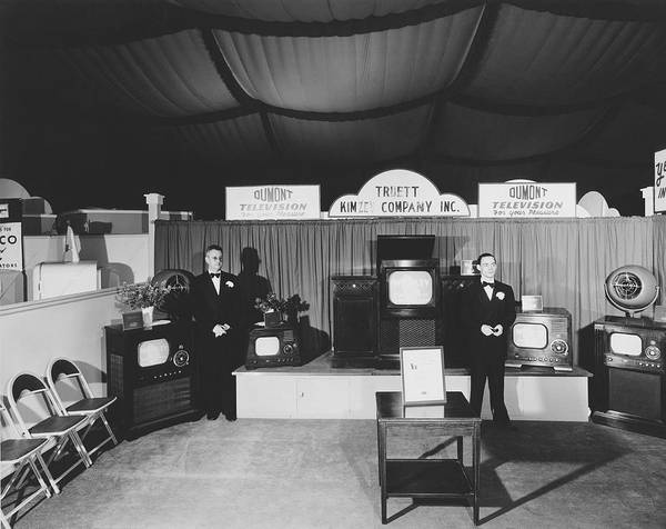Fort Worth Photograph - Dumont Tv Display by Bill Wood