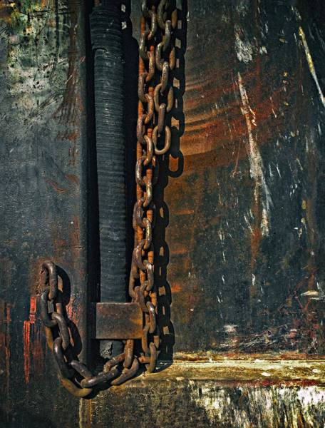 Dump Truck Photograph - Dump Truck Chain by Andrew Wohl