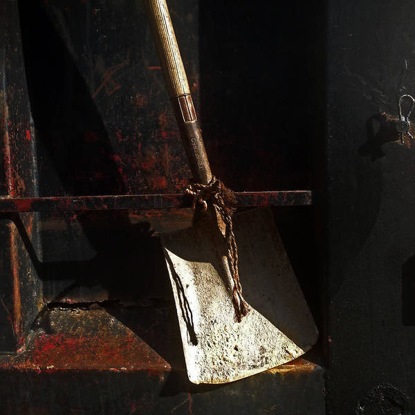 Dump Truck Photograph - Dump Truck Shovel by Andrew Wohl