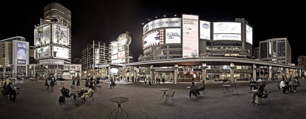 Photograph - Dundas Square Skyline At Night by Levin Rodriguez