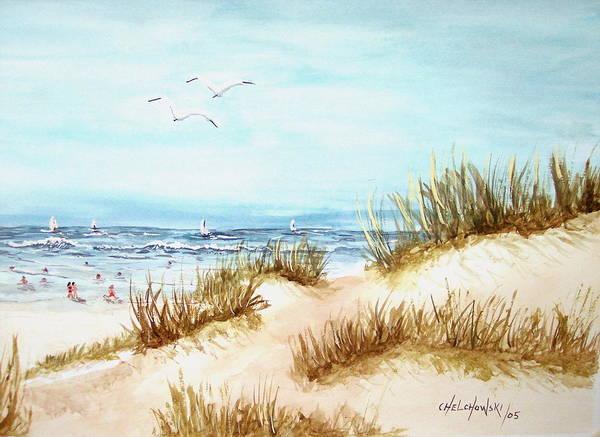 Dune Beach Art Print