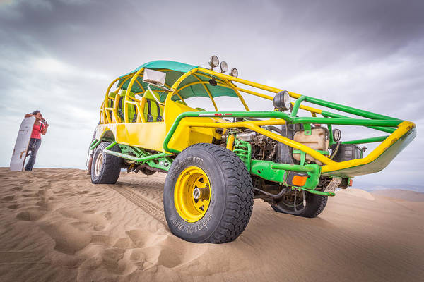 Photograph - Dune Buggy by Gary Gillette
