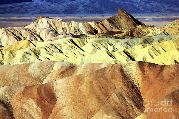 Photograph - Dune Colors At Death Valley by John Rizzuto