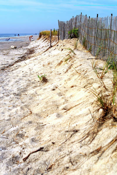 Photograph - Dune Dimensions In Cape May by John Rizzuto