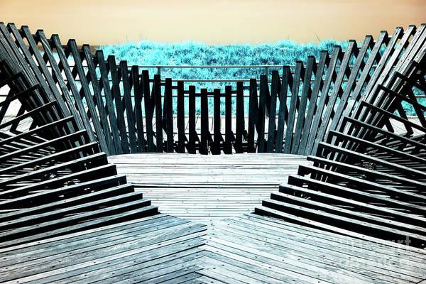 Photograph - Dune Fence Art by John Rizzuto