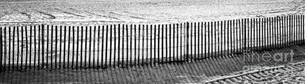 Wall Art - Photograph - Dune Fence Panorama by John Rizzuto