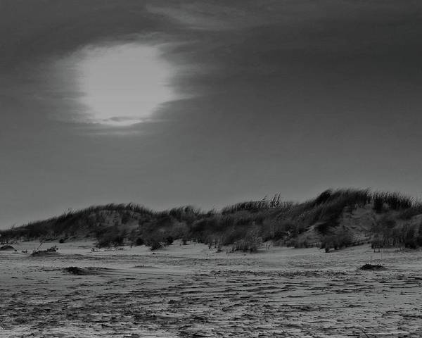 Photograph - Dune In Black And White by John Feiser