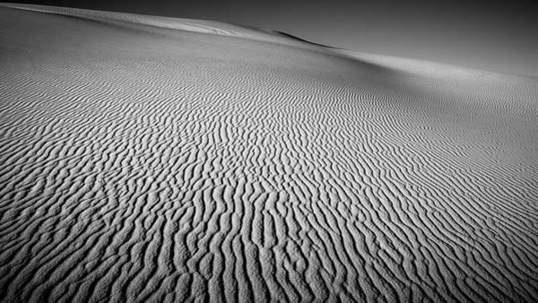White Sand Photograph - Dune Patterns by Joseph Smith