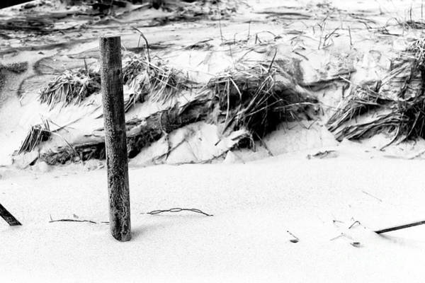Photograph - Dune Post At Long Beach Island by John Rizzuto