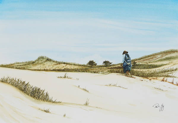 Painting - Dune Walker Province Lands by Paul Gaj