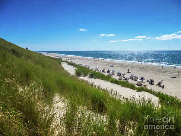 Photograph - Dunes And Beach On The Island Of Sylt by Marina Usmanskaya