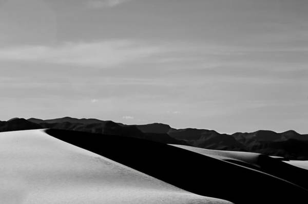 Wall Art - Photograph - Dunes And Mountains Five by Paul Basile