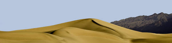 Wall Art - Photograph - Dunes And Mountains Four Wide by Paul Basile