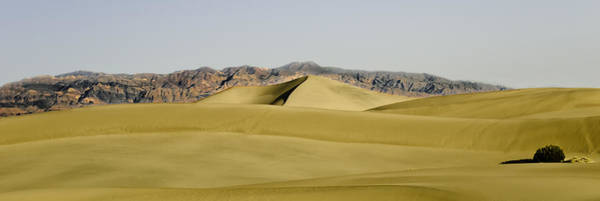 Wall Art - Photograph - Dunes And Mountains Four Wider by Paul Basile