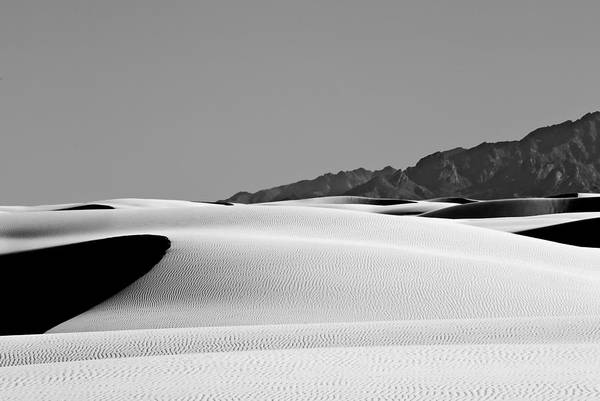 Wall Art - Photograph - Dunes And Mountains One by Paul Basile