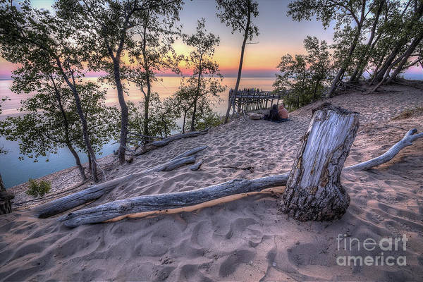 Sleeping Bear Dunes Wall Art - Photograph - Dunes Sunset by Twenty Two North Photography