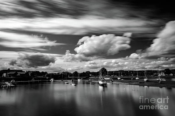 Photograph - Dungarvan Bay Mono by Marc Daly