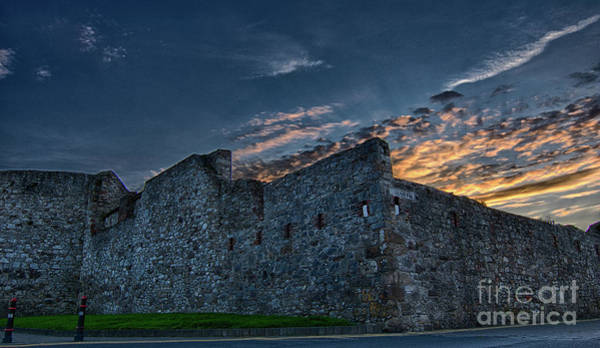 Photograph - Dungarvan Castle Walls by Marc Daly