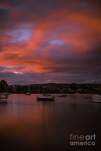 Photograph - Dungarvan Harbor Sunset 2 by Marc Daly