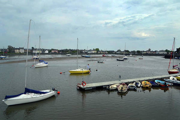 Wall Art - Photograph - Dungarvan Harbour. by Terence Davis