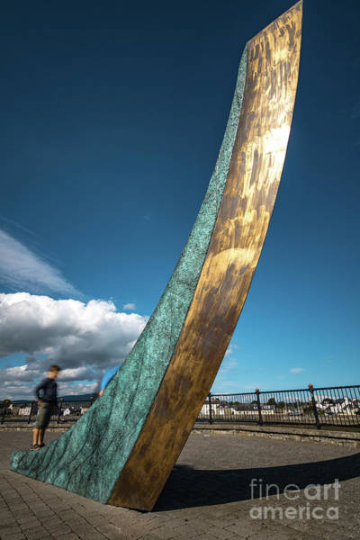 Photograph - Dungarvan Sculpture by Marc Daly