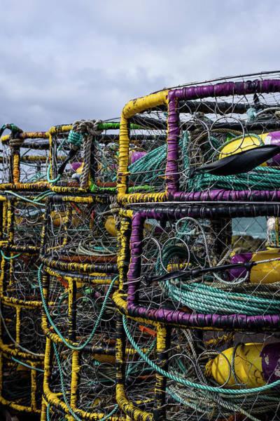 Photograph - Dungeness Crab Pots by Robert Potts