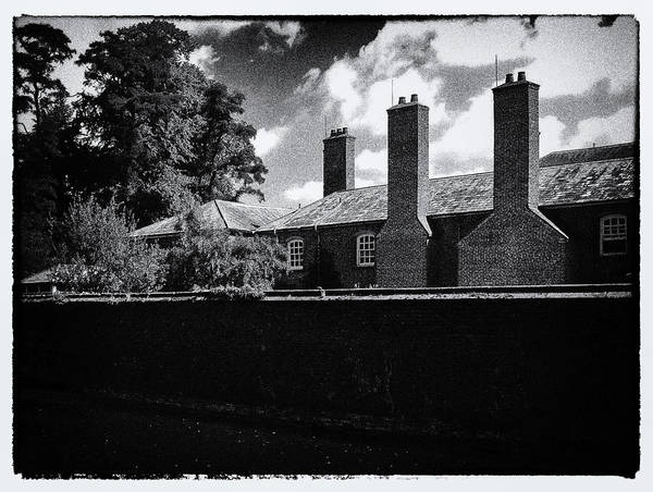 Photograph - English Building Black And White Nostalgia Edition by Matthias Hauser