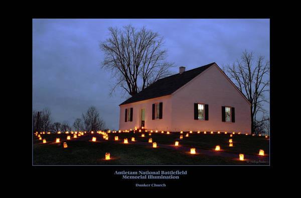 Luminaries Photograph - Dunker Church 94 by Judi Quelland