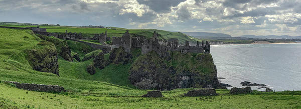 Photograph - Dunluce Castle 1857 by Teresa Wilson