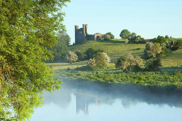 Dunmore East Photograph - Dunmoe Castle -co Meath Ireland by Peter McCabe