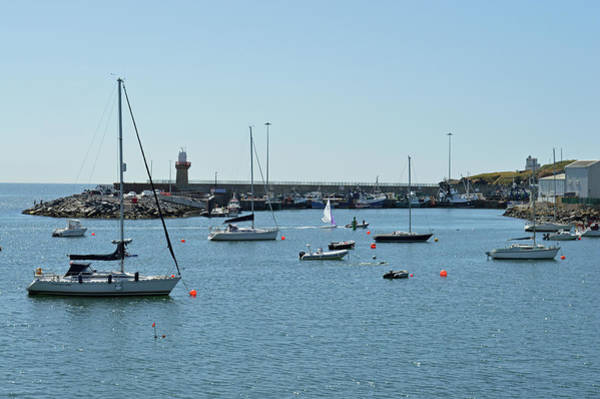 Wall Art - Photograph - Dunmore East Harbour. by Terence Davis