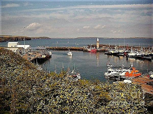 Photograph - Dunmore East Harbour  Waterford by Val Byrne