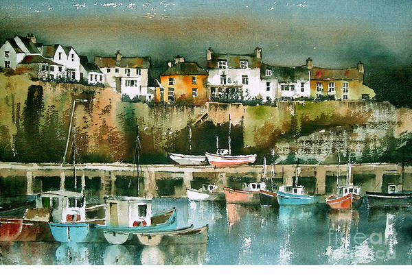 Painting - Dunmore East, Waterford by Val Byrne