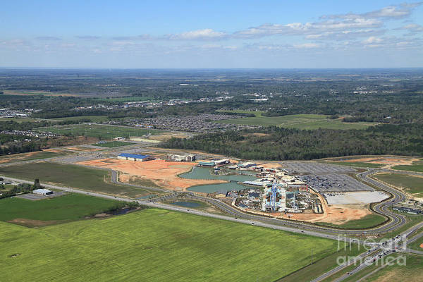 Photograph - Dunn 7654 by Gulf Coast Aerials -