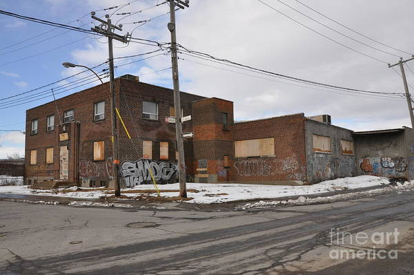 Deconstruction Photograph - Dunn And Pitt Street Urban Exploration by Reb Frost