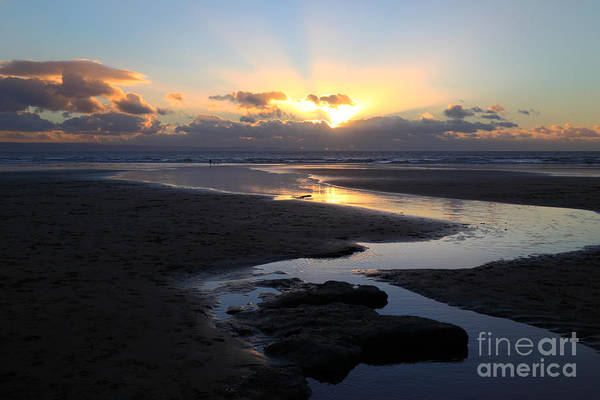 Photograph - Dunraven Or Southerndown Bay South Wales by James Brunker