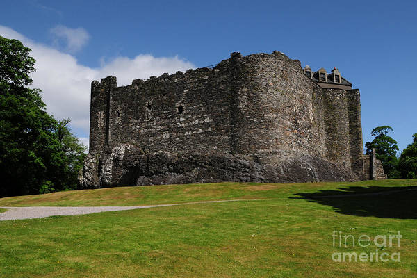 Castle Photograph - Dunstaffnage Castle by Smart Aviation