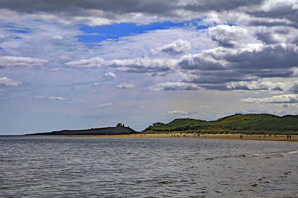 Photograph - Dunstanburgh Castle  by Tony Murtagh