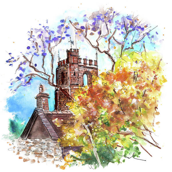 Painting - Dunster 06 by Miki De Goodaboom