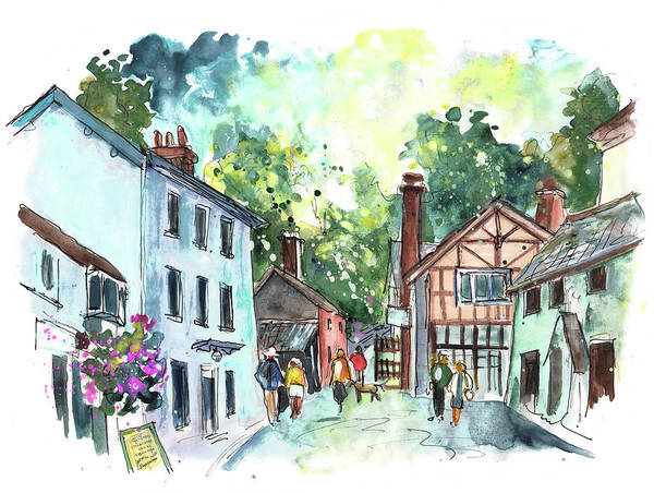 Wall Art - Painting - Dunster 11 by Miki De Goodaboom