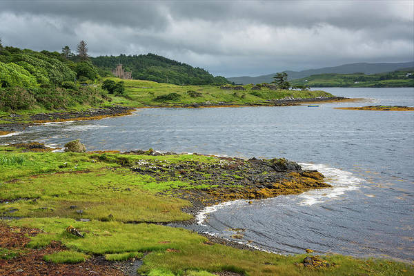 Wall Art - Photograph - Dunvegan Castle by Christian Heeb