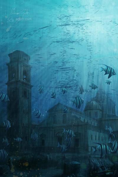 Ocean Scape Digital Art - Duomo by Andrea Gatti