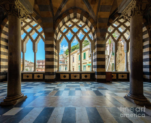Wall Art - Photograph - Duomo Di Amalfi by Inge Johnsson