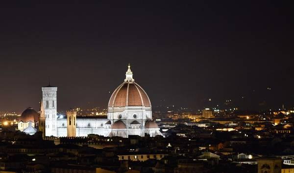 Duomo Illuminated Art Print