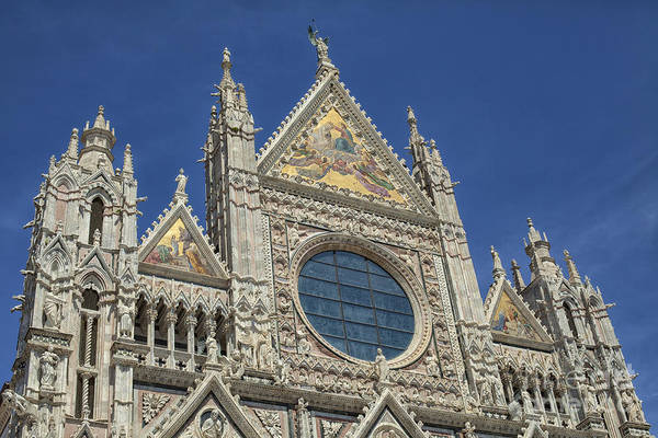 Wall Art - Photograph - Duomo In Sienna, Italy by Patricia Hofmeester
